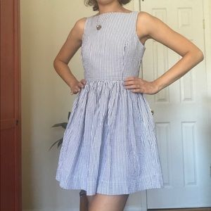 American Apparel Seersucker Dress